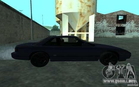 Nissan Onevia (Silvia) S13 para GTA San Andreas left