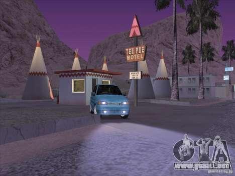 ВАЗ 2114 Casino para GTA San Andreas vista hacia atrás