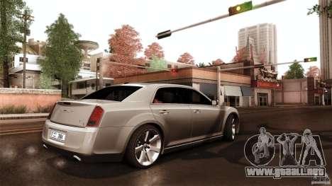 Chrysler 300C V8 Hemi Sedan 2011 para visión interna GTA San Andreas