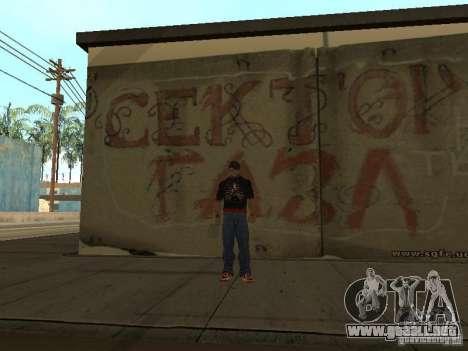 La franja de Gaza para GTA San Andreas tercera pantalla