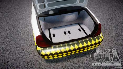 Ford Crown Victoria Karachi Traffic Police para GTA 4 vista hacia atrás