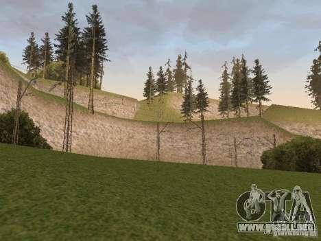 Red de contactos para GTA San Andreas quinta pantalla