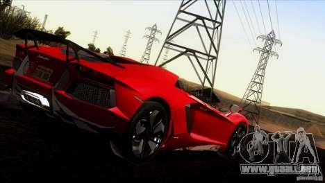 Lamborghini Aventador LP-700 J para la vista superior GTA San Andreas