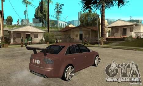 Audi RS4 2006 v2 para la visión correcta GTA San Andreas