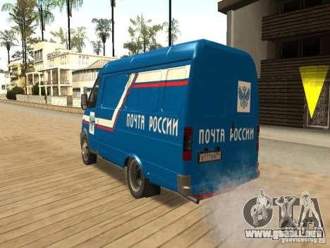 Correo 2705 gacela de Rusia para GTA San Andreas left