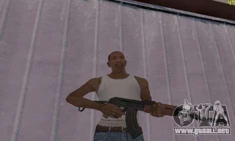 AKMS para GTA San Andreas segunda pantalla