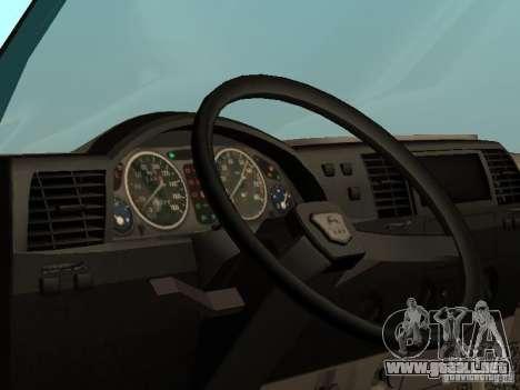 GAZ 33021 para la visión correcta GTA San Andreas