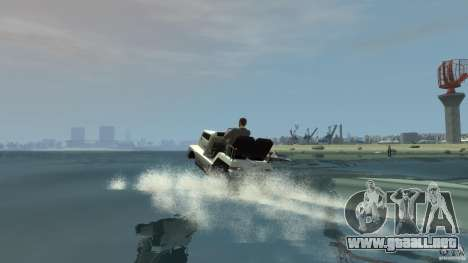 Airtug boat para GTA 4 vista interior
