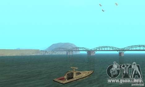 GTA III Ghost para GTA San Andreas left