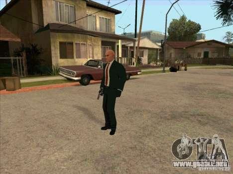 Hitman: Codename 47 para GTA San Andreas sucesivamente de pantalla
