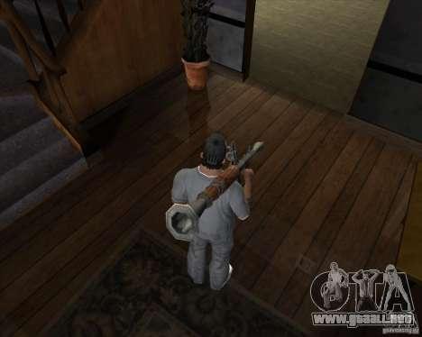RPG 7 de Battlefield Vietnam para GTA San Andreas tercera pantalla
