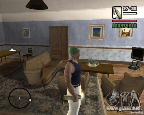 Cóctel Molotov de Mafia 2 para GTA San Andreas