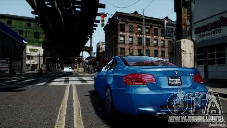 BMW M3 E92 ZCP 2012 para GTA 4 left