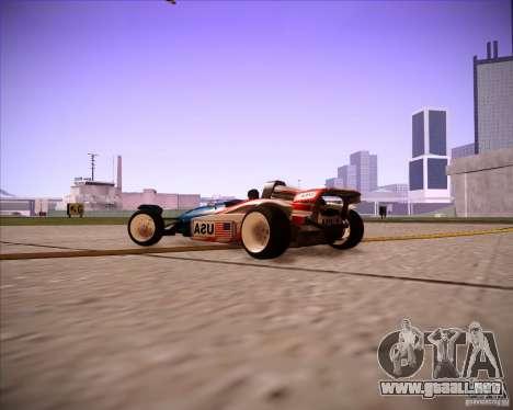 Track Mania Stadium Car para la visión correcta GTA San Andreas