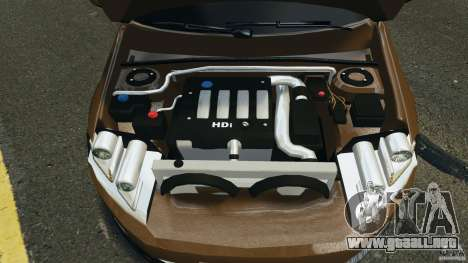 Volkswagen Passat Variant B7 para GTA 4 vista hacia atrás