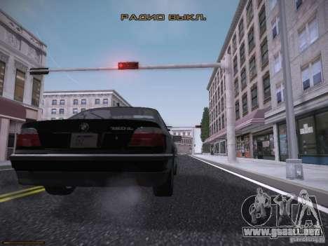 LiberrtySun Graphics ENB v3.0 para GTA San Andreas novena de pantalla