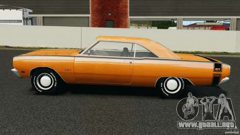 Dodge Dart GTS 1969 para GTA 4 left