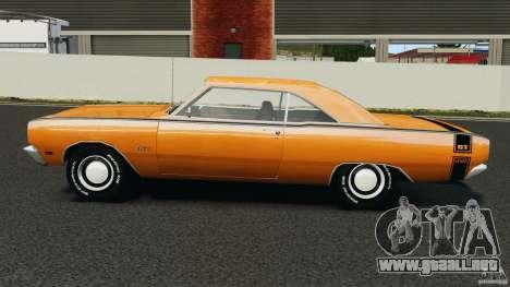Dodge Dart GTS 1969 para GTA 4 left