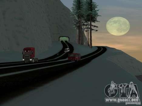 Invierno para GTA San Andreas sexta pantalla
