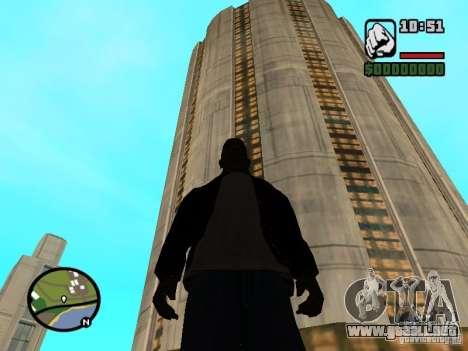 Casa a 5 cadetes del juego Star Wars para GTA San Andreas sucesivamente de pantalla