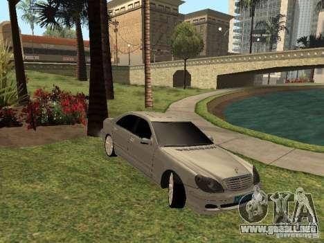 Mercedes-Benz S600 w200 para GTA San Andreas