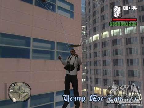 Camisas con corbata para GTA San Andreas quinta pantalla