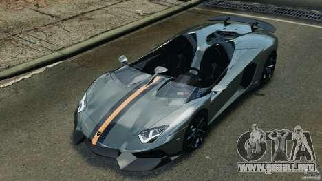 Lamborghini Aventador J 2012 v1.2 para GTA 4
