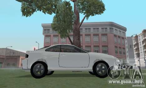 Toyota Celica GT4 2000 para la visión correcta GTA San Andreas