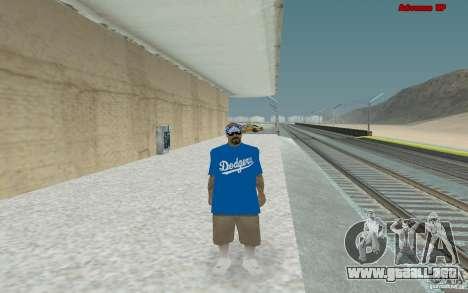 Nuevos aspectos para banda Varios Los Aztecas para GTA San Andreas quinta pantalla