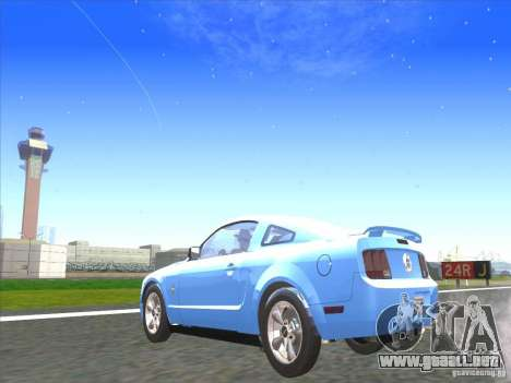 Ford Mustang Pony Edition para GTA San Andreas left