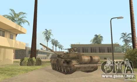 T-90A para la visión correcta GTA San Andreas
