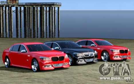 Pantallas de menú y arranque HAMANN BMW en GTA 4 para GTA San Andreas tercera pantalla