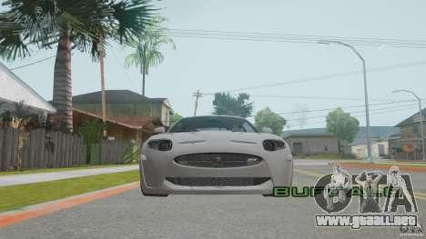 Jaguar XKR-S para visión interna GTA San Andreas