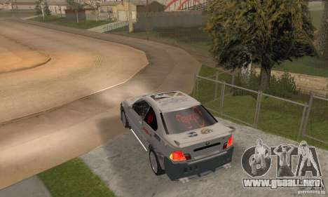 BMW M3 Hamman Street Race para GTA San Andreas left