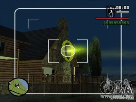 Apoyo aéreo para GTA San Andreas segunda pantalla