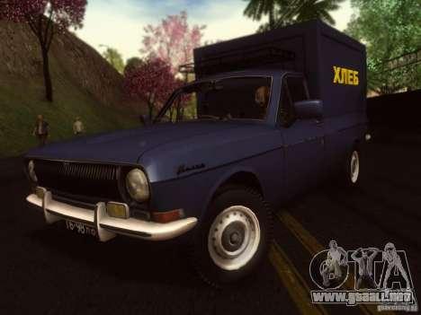 GAZ 24-12 pan van para GTA San Andreas