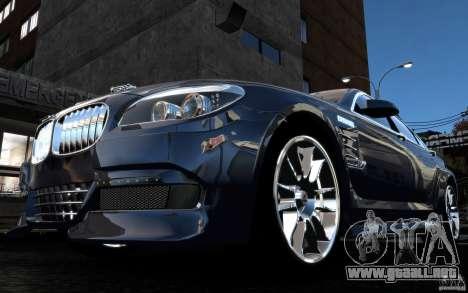 Pantallas de menú y arranque HAMANN BMW en GTA 4 para GTA San Andreas twelth pantalla