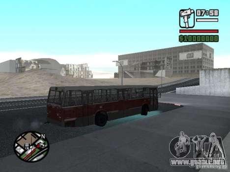 DAF CSA 1 City Bus para GTA San Andreas vista hacia atrás