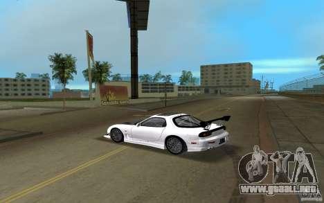 Mazda RX-7 FD3S para GTA Vice City left
