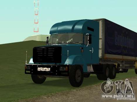 ZIL 133 para GTA San Andreas