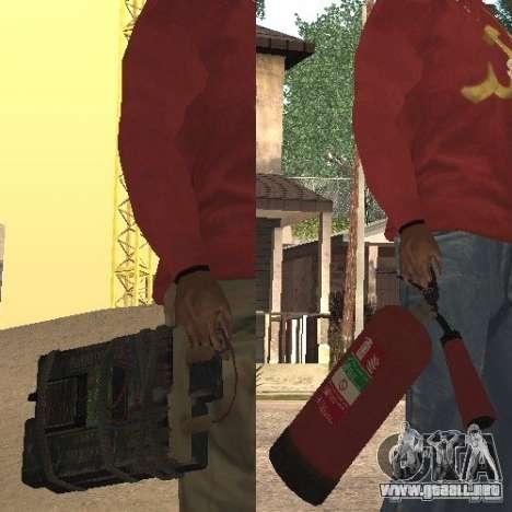 Extintor de GTA 4 para GTA San Andreas