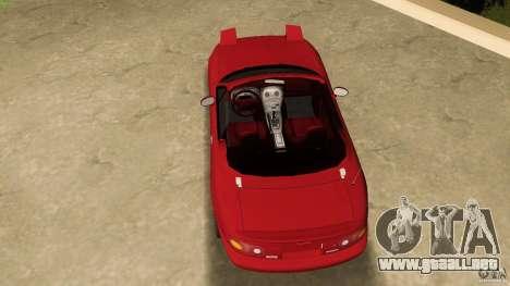 Mazda MX-5 para GTA Vice City visión correcta