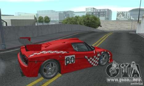 Ferrari F50 GT (v1.0.0) para la visión correcta GTA San Andreas