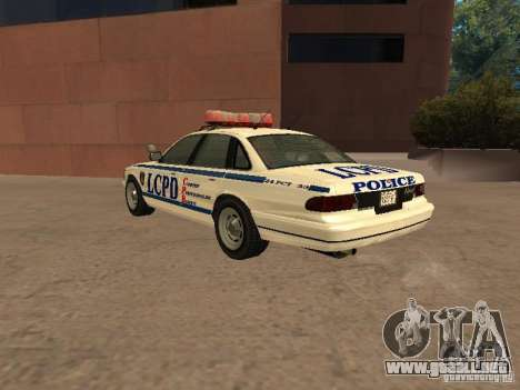 La policía de GTA4 para la visión correcta GTA San Andreas