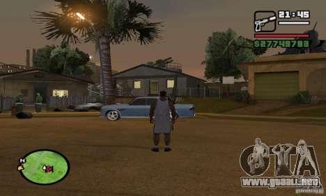 Base GROOVE Street para GTA San Andreas segunda pantalla