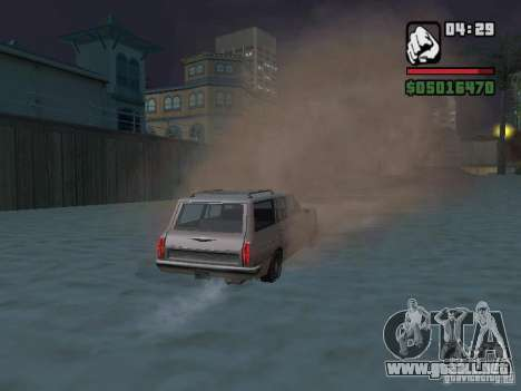 New Realistic Effects para GTA San Andreas novena de pantalla