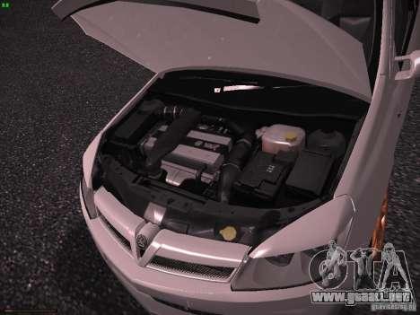 Vauxhall Astra VXR Tuned para GTA San Andreas vista hacia atrás