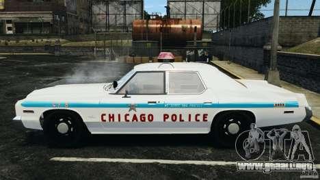 Dodge Monaco 1974 Police v1.0 [ELS] para GTA 4 left