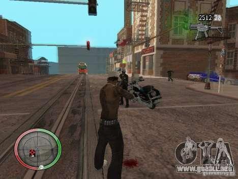 GTA IV HUD v4 by shama123 para GTA San Andreas tercera pantalla