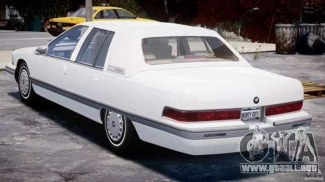 Buick Roadmaster Sedan 1996 v1.0 para GTA 4 visión correcta